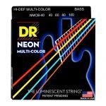 DR NMCB-40 Neon Bass Strings