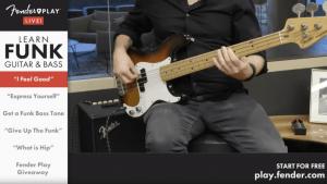 Fender Play YouTube Screenshot