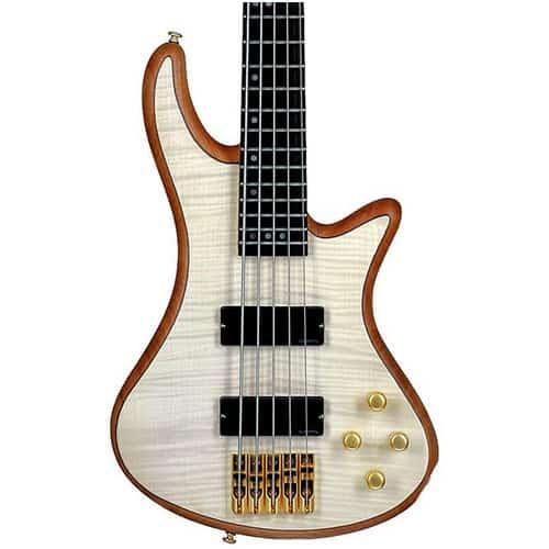 Schecter Guitar Research Stiletto Custom-5 String Bass Guitar