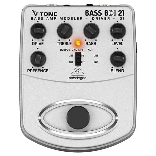 Behringer BDI21 V-Tone Bass Preamp Pedal