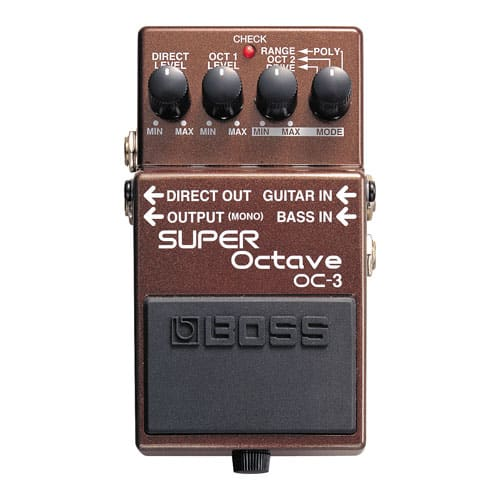 Boss OC-3 Super Bass Octave Pedal