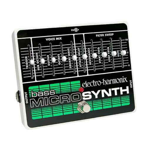 Electro Harmonix Bass MicroSynth Pedal
