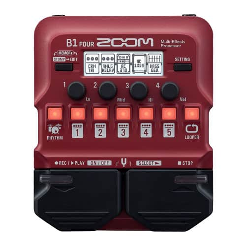 Zoom B1 FOUR Multi Effects Processor