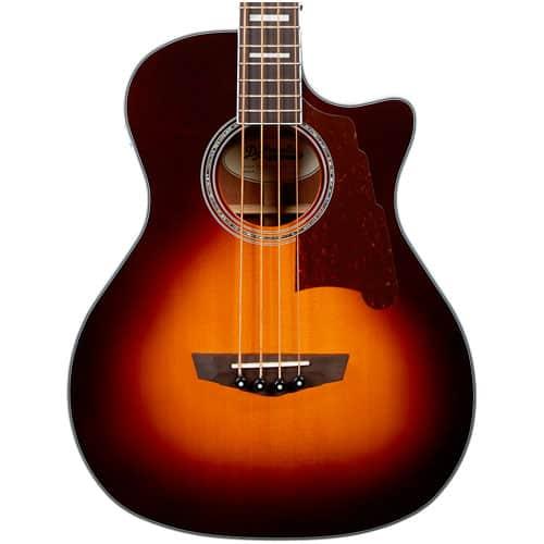 D'Angelico Premier Series Mott Acoustic Bass
