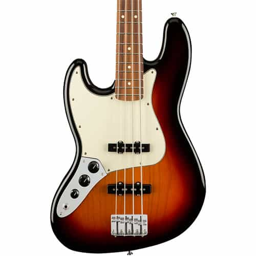 Fender player jazz bass guitar