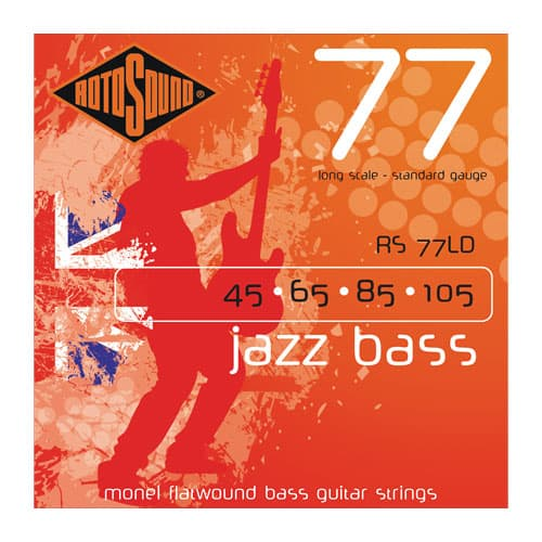 Rotosound Monel Flatwound Bass Strings
