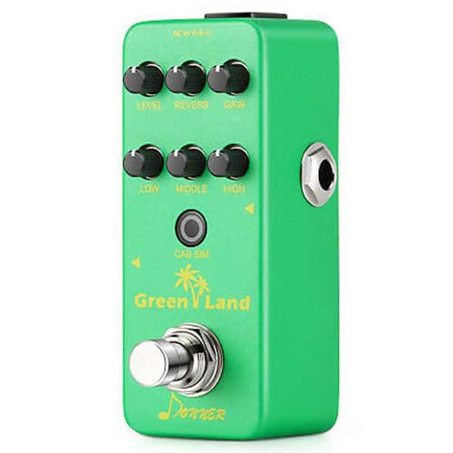 Donner Green Land Mini Electric Guitar Preamp