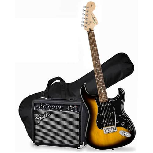 Squier By Fender Stratocaster Electric Guitar Pack