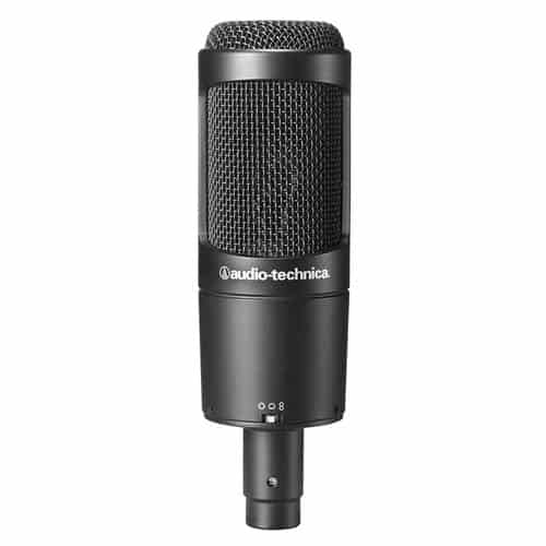 Audio Technica AT2020 Cardioid Condenser Studio XLR Microphone