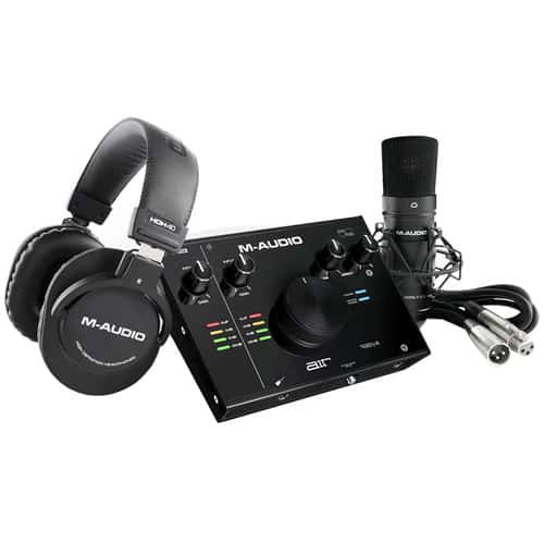 M Audio AIR Complete Home Recording Bundle