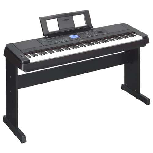Yamaha DGX660 88-Key Weighted Digital Piano