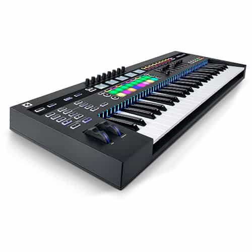Novation 61SL MkIII Semi-Weighted MIDI Keyboard