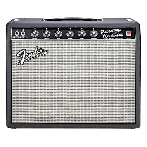 Fender '65 Princeton Reverb Guitar Combo Low Watt Tube Amp Combo
